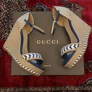 Gucci espadrilles size 38.5